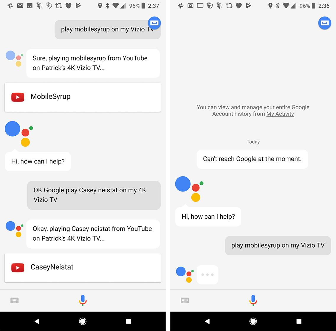Google voice chatbot