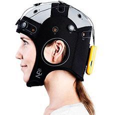 Professional or laboratory EEG headset