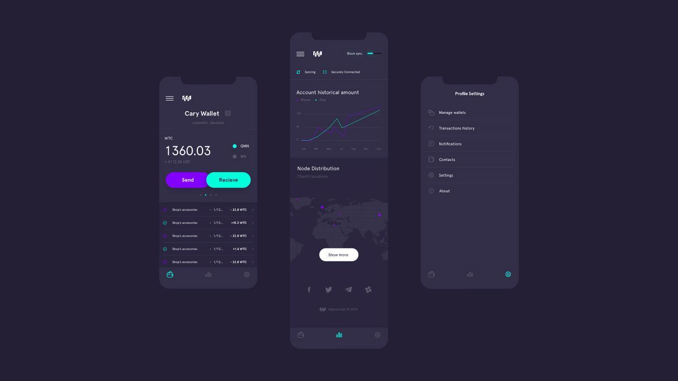 Unusual Financial Portal Design